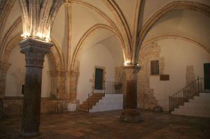 The Upper Room in Jerusalem.